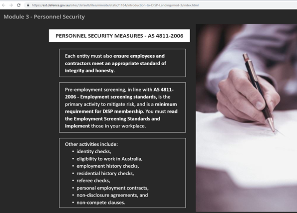 Personal Security Measures