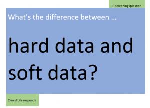 hard data v soft data